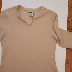 Old Navy Thermal Knit long sleeved Tee
